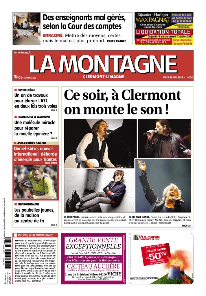 d34909e7f97166 Cesoir,àClermont onmonteleson! - JTconcept | manualzz.com