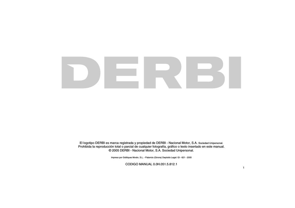 Levier de d/émarrage Derbi Senda fer