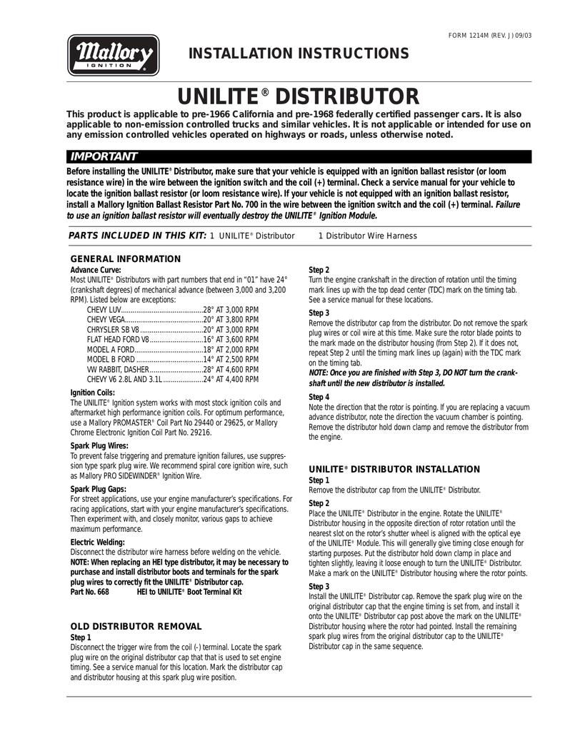 UNILITE® DISTRIBUTOR | manualzz.com on mallory battery, mallory gauges, mallory resistors, mallory furniture, mallory electronics,