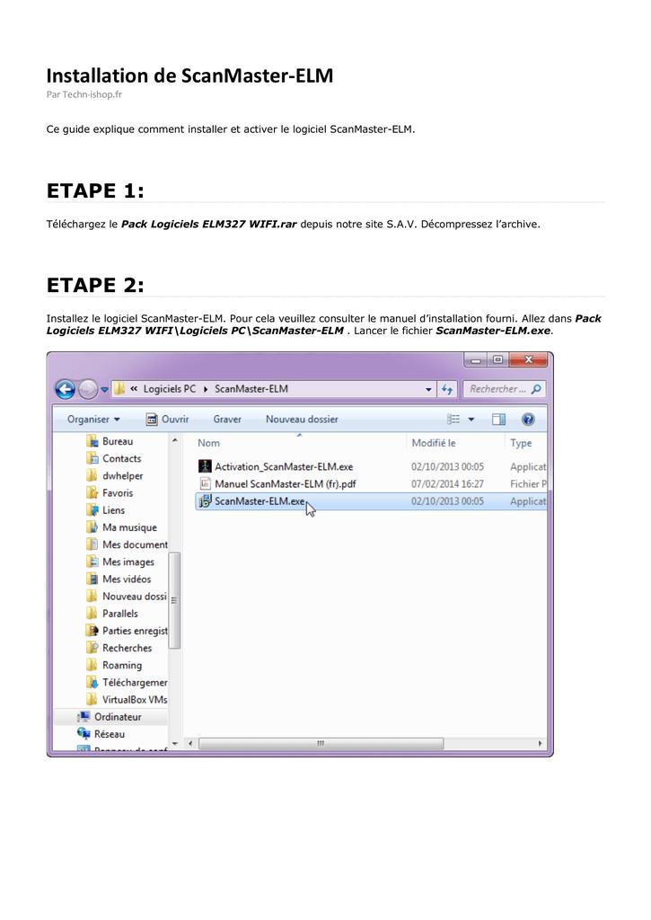 logiciel scanmaster