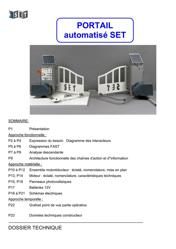 Portail Automatisé Set Manualzzcom