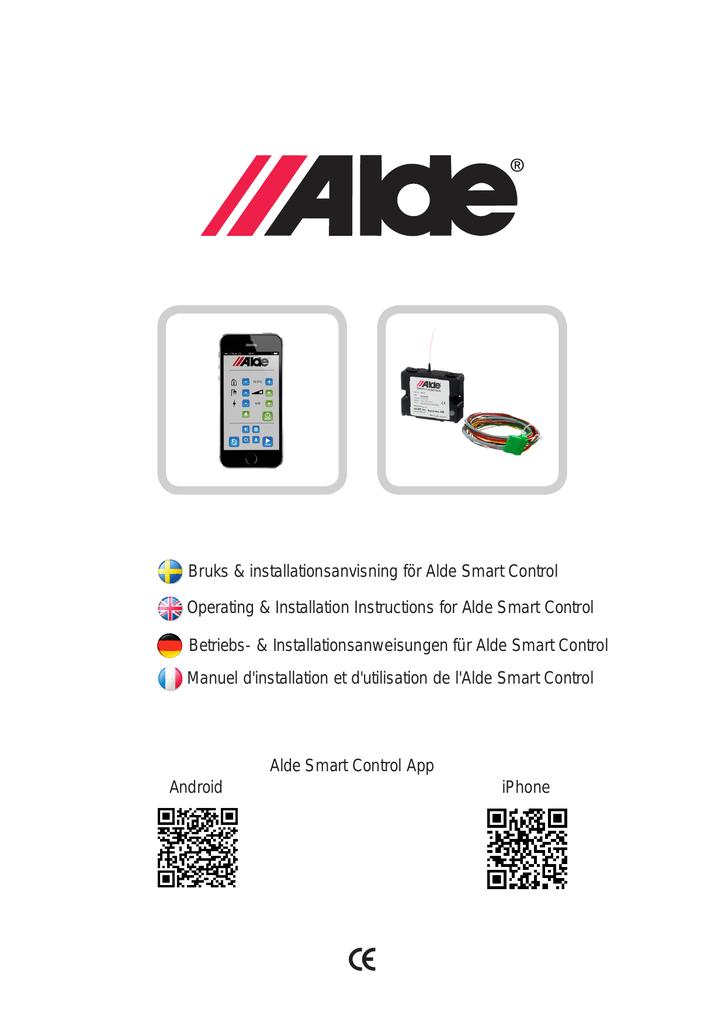 Operating & Installation Instructions for Alde Smart