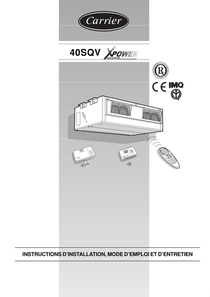 40sqv Carrier Manualzz