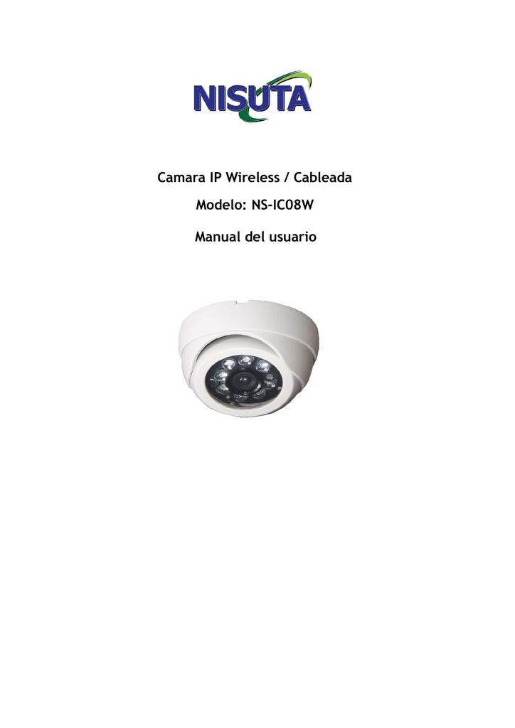 Camara IP Wireless / Cableada Modelo: NS-IC08W | manualzz com