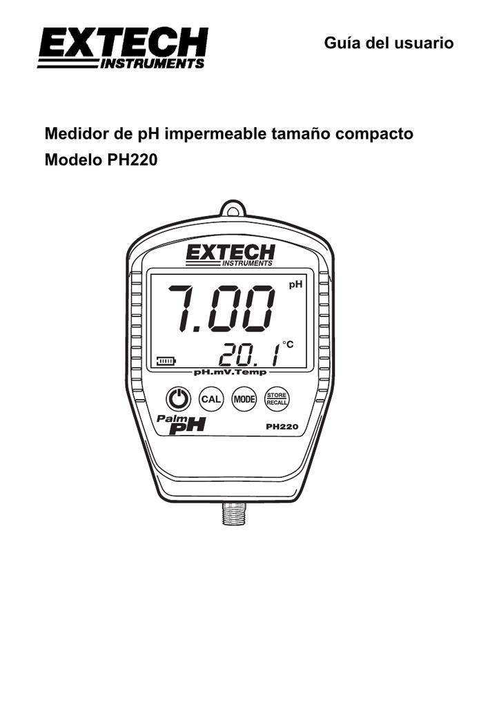 Extech 601500 Electrodo para pH est/ándar de 12 por 160 mm