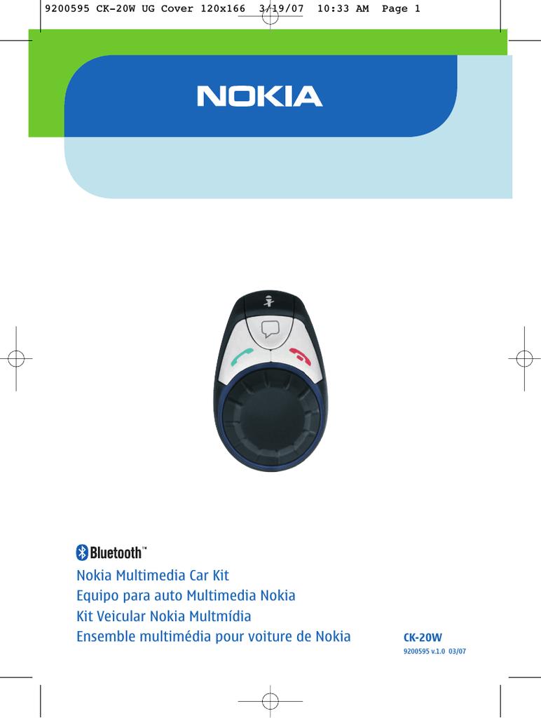 Nokia Car Kit Ck 7w Wiring Diagram. . Electrical Circuit Diagram on