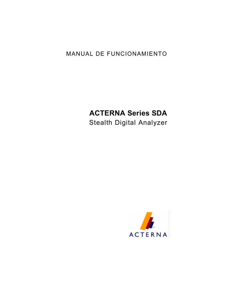 manual sda 500 - Documento sin título | manualzz.com