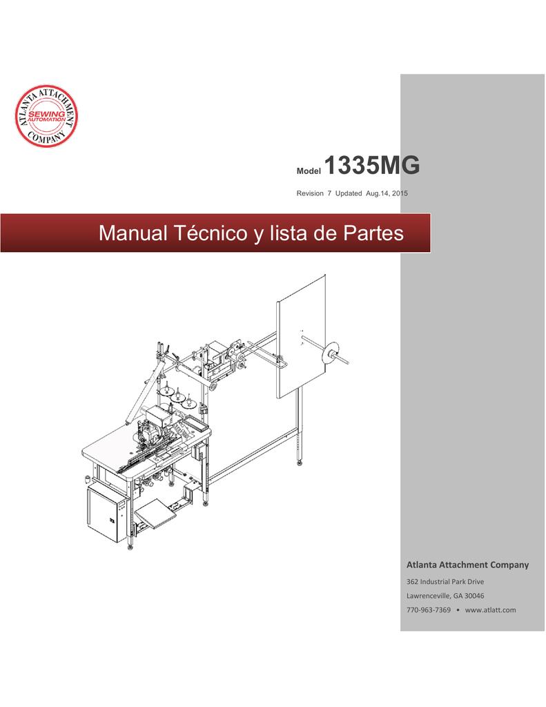 Manual Técnico & Lista de Partes | manualzz.com