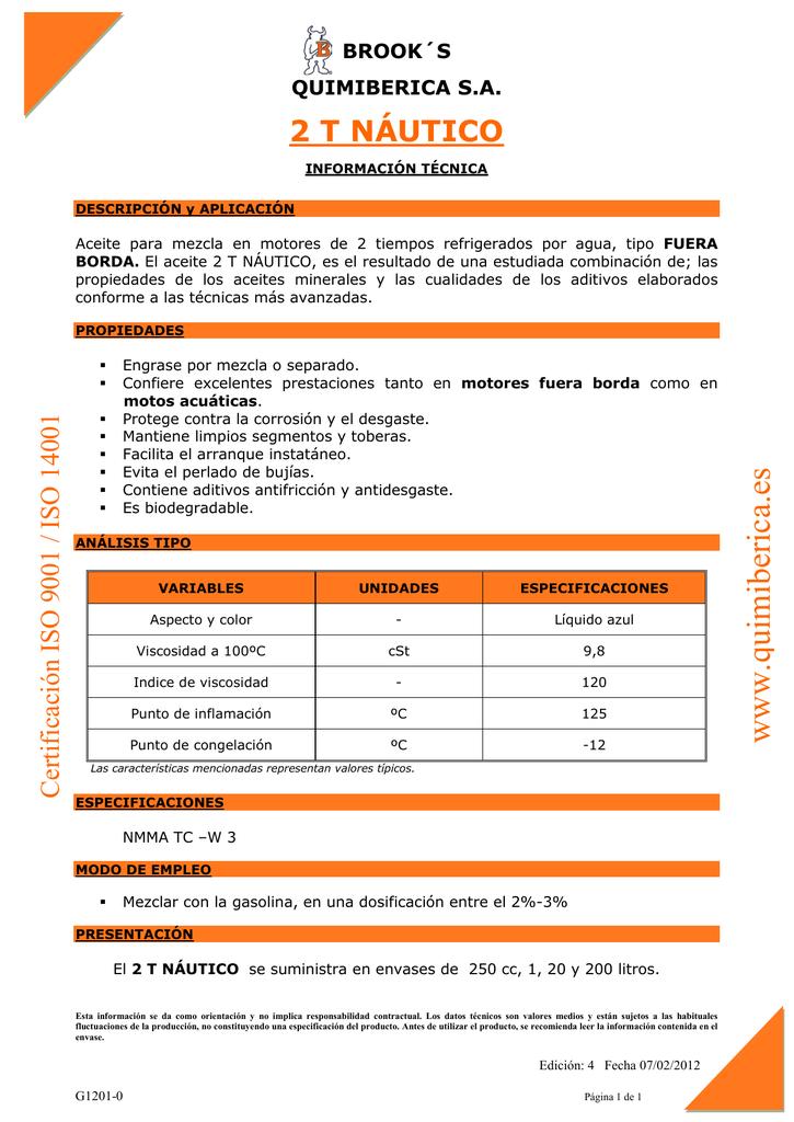 Mantenimiento de motor fuera de borda de 2 tiempos pdf