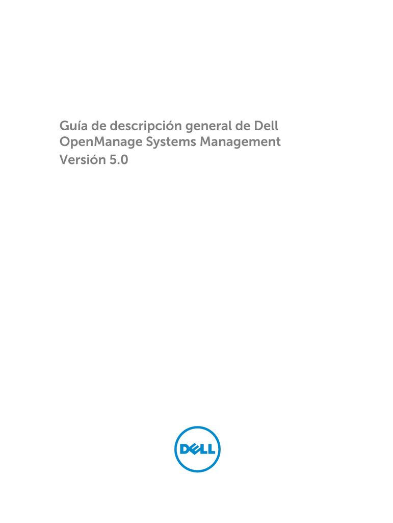 Guía de descripción general de Dell OpenManage Systems | manualzz.com