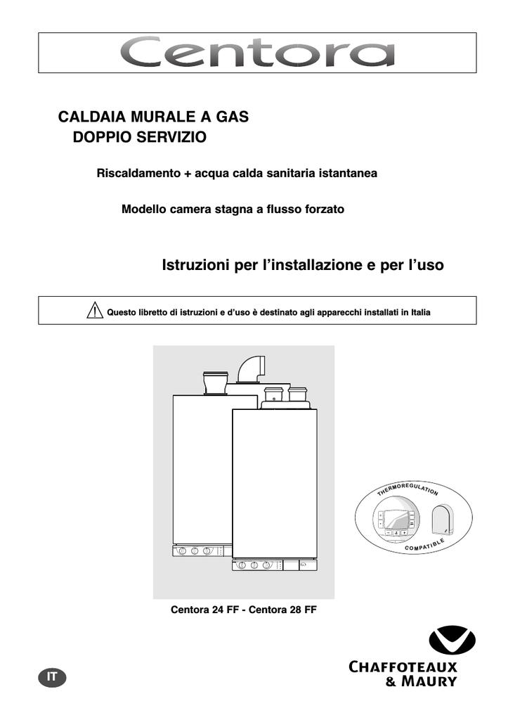 Chaffoteaux Caldaia Centora Manualzz Com