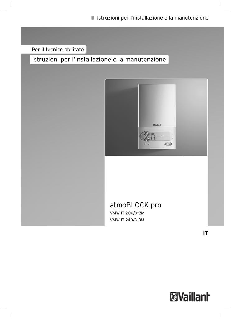 Istruzioni D Installazione Atmoblock Pro Dimensione 4 17