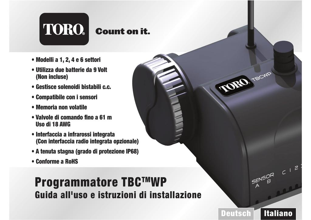 Programmatore Tbctmwp Manualzz Com