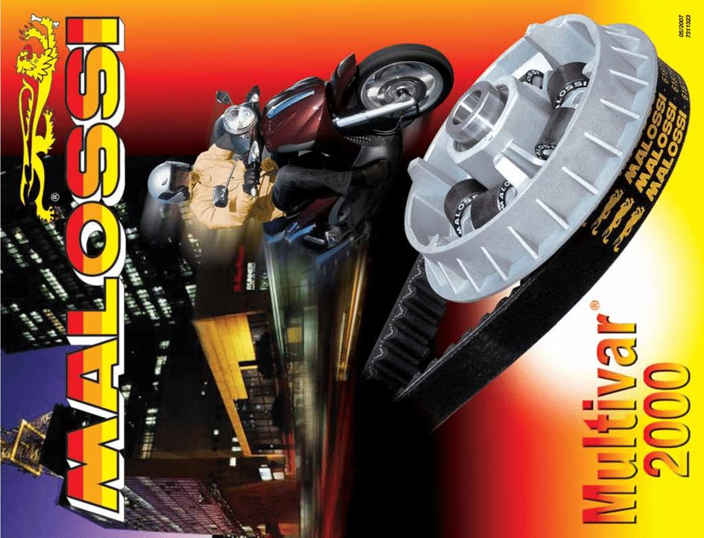 Variateur MULTIVAR 6111347b semipuleggia Ventilvar 2000/pour Kymco Maxxer 300