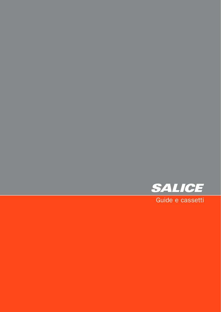 Guide Scorrevoli per Cassetti colore Bianco misura 300 mm Estrazione 184 mm 1 Cp