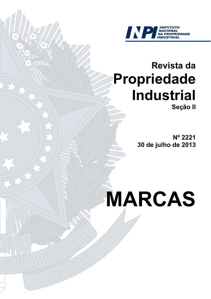 a9e30d7f7 Índice Geral - Revista da Propriedade Industrial   manualzz.com