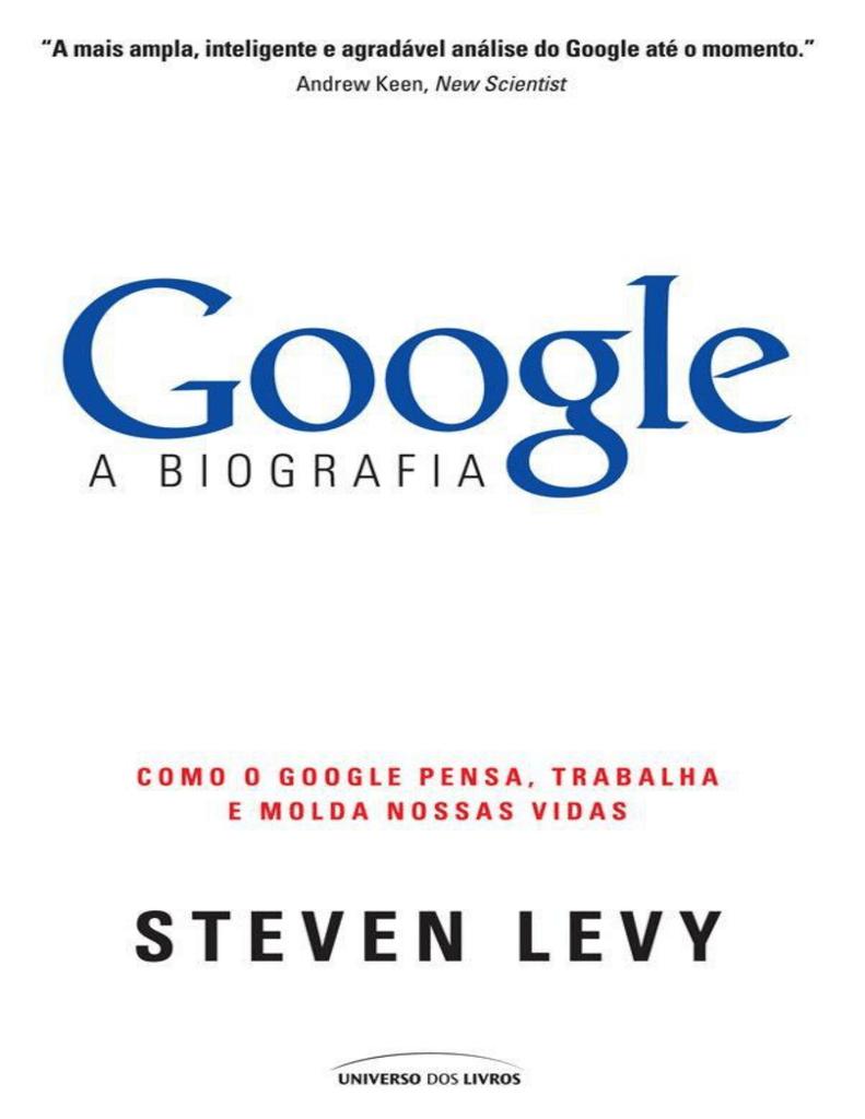 c48089eadcc3 Google - A Biografia - Inovação = ideias novas em ação | manualzz.com