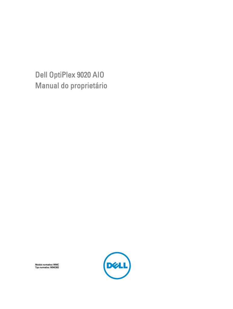 Dell OptiPlex 9020 AIO Manual do proprietário | manualzz com