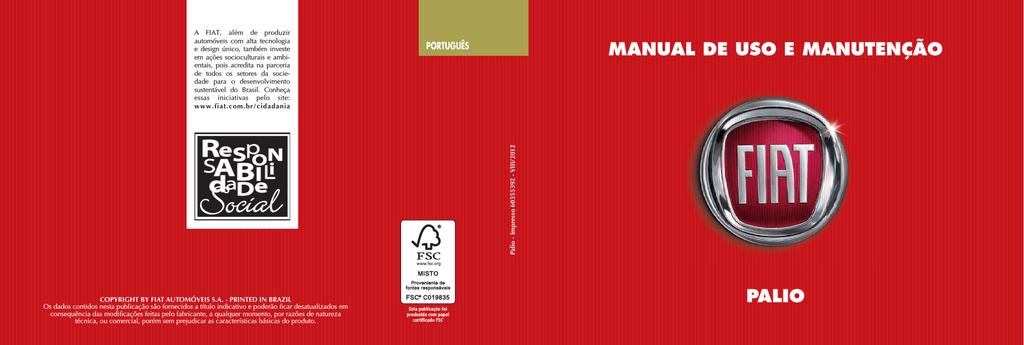 Manual de uso e manuteno palio manualzz fandeluxe Images