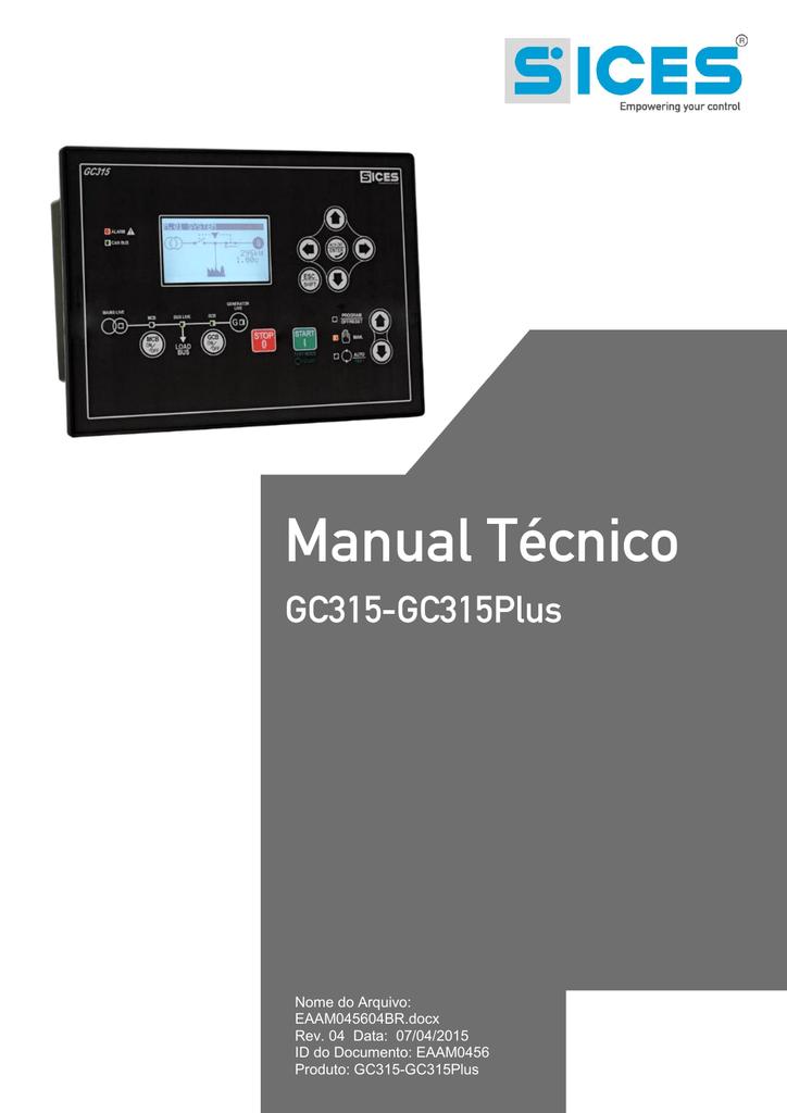 Manual tcnico gc315 manualzz fandeluxe Images