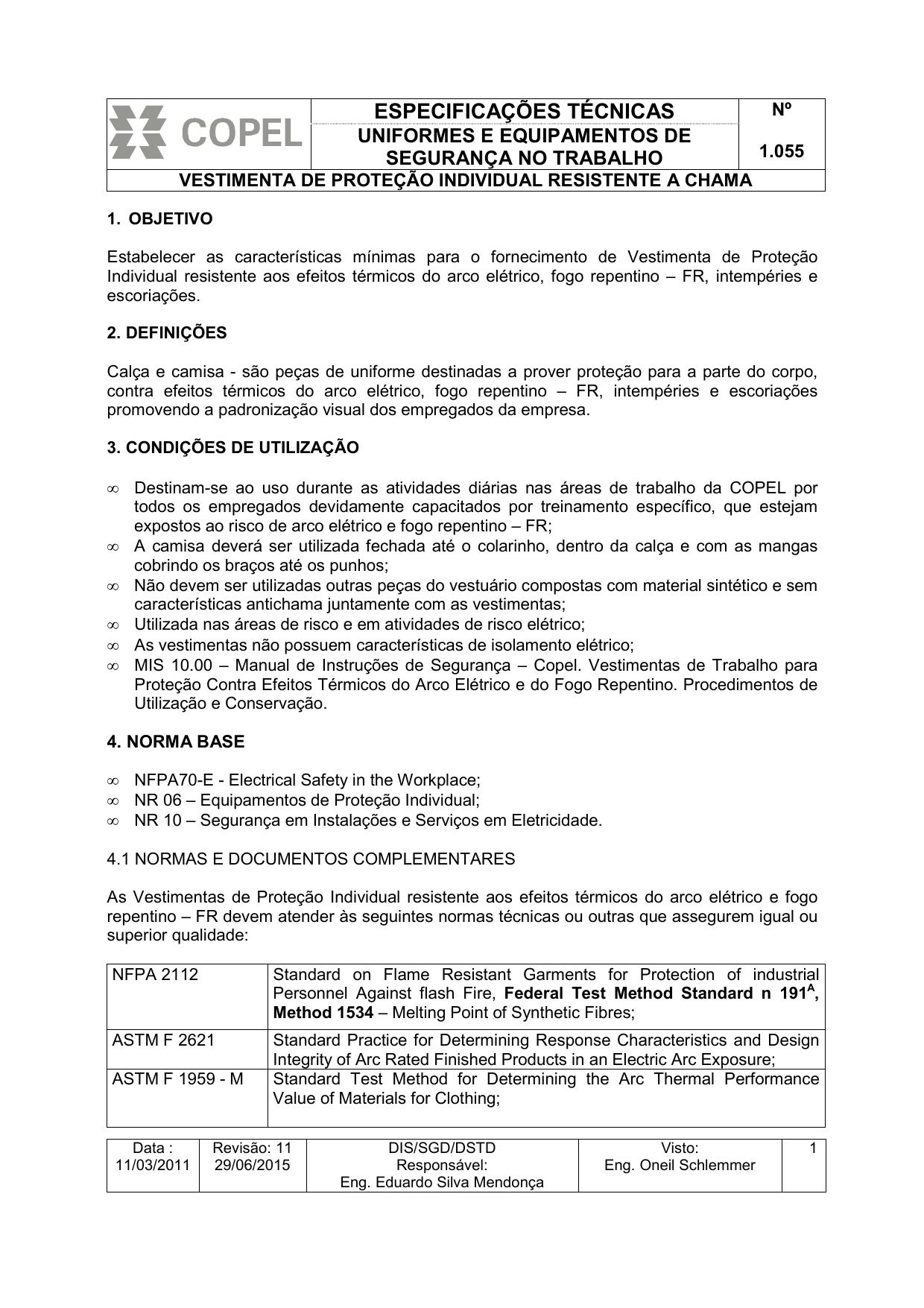 8e662beba1 Espec. COPEL 1.055- Vestimenta Anti | manualzz.com