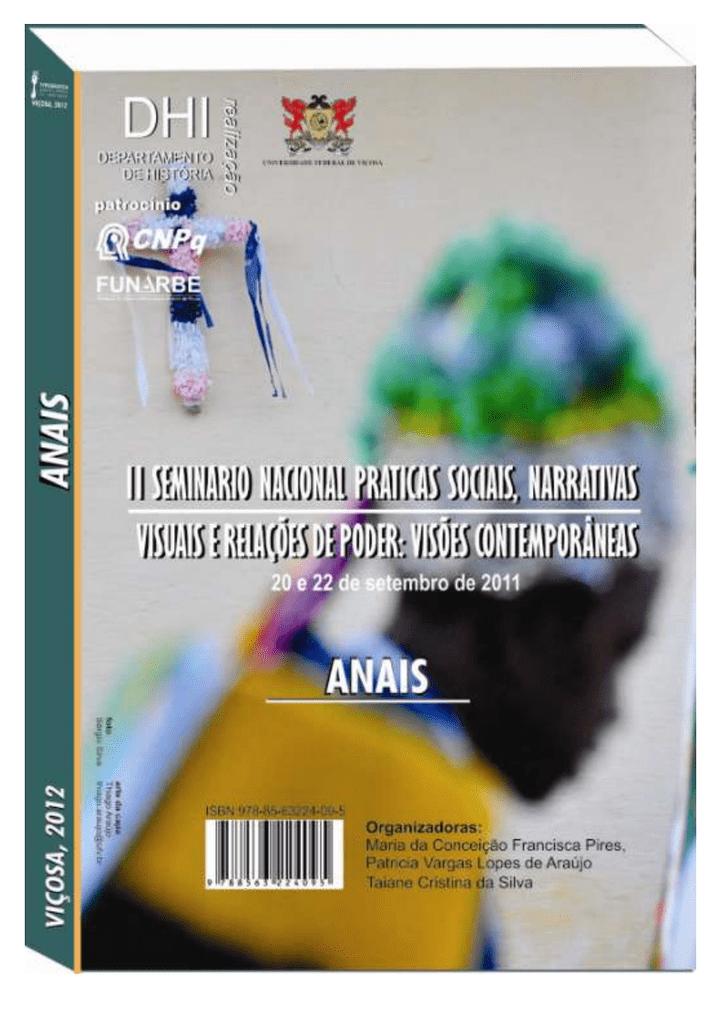 ade47ccf116774 Anais do II Seminario Práticas Sociais, Narrativas - DTI   manualzz.com
