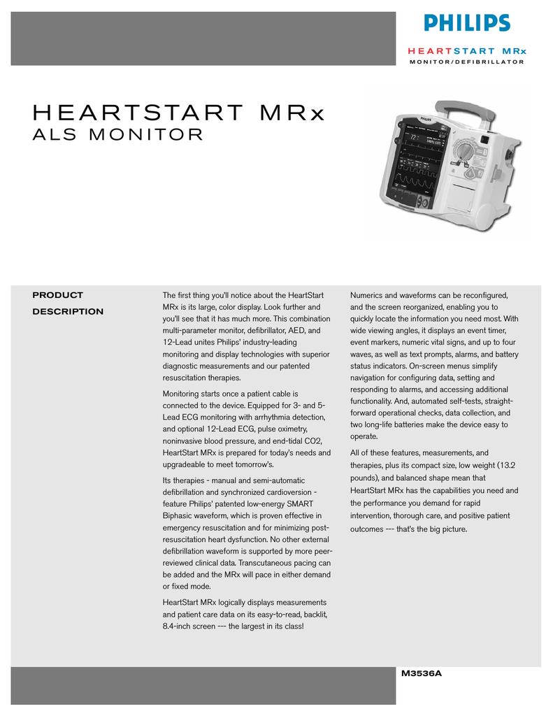HEARTSTART MRx | manualzz com