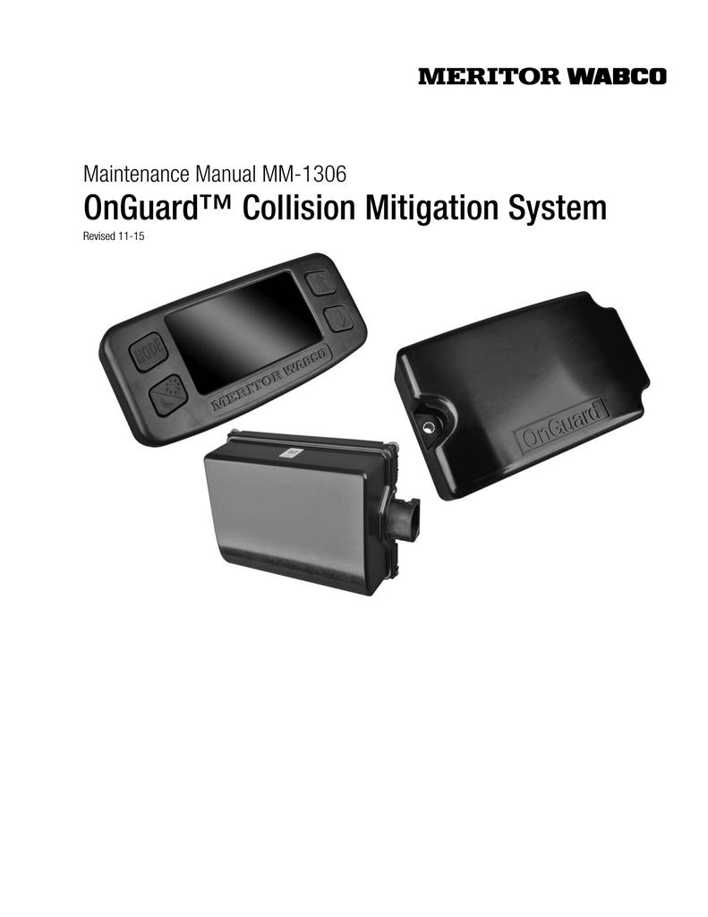 MM-1306 - Meritor WABCO   manualzz com