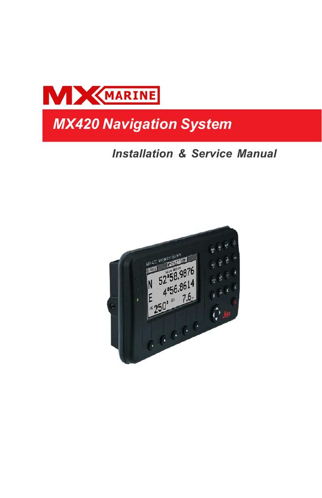 mx420 navigation system simrad professional series manualzz com rh manualzz com