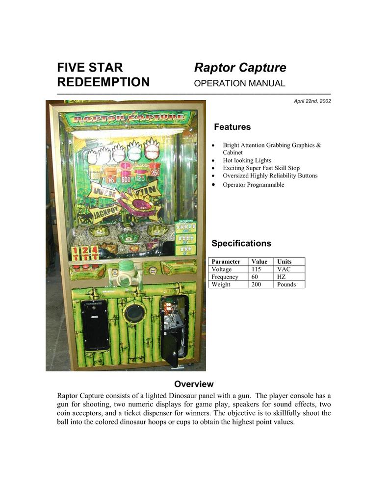 Raptor Captor Manual Wiring Diagram 120