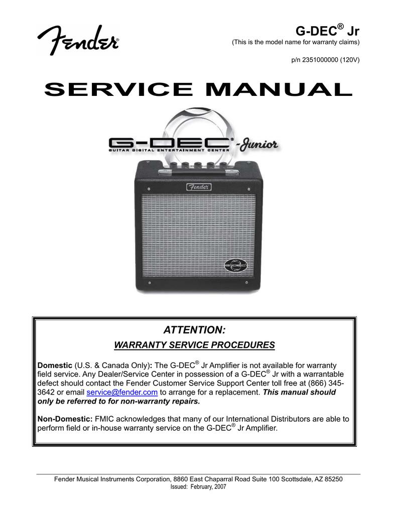 SERVICE MANUAL - Music Electronics Forum   manualzz.com on
