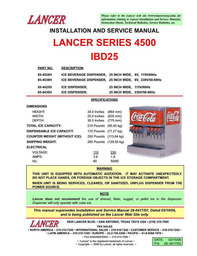 LANCER 52-2122 Ballast Assembly Lg Lead 230-Volt Ibd