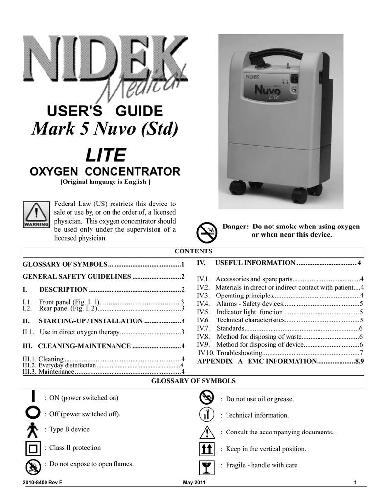 Triplet Oxygen Manual Guide