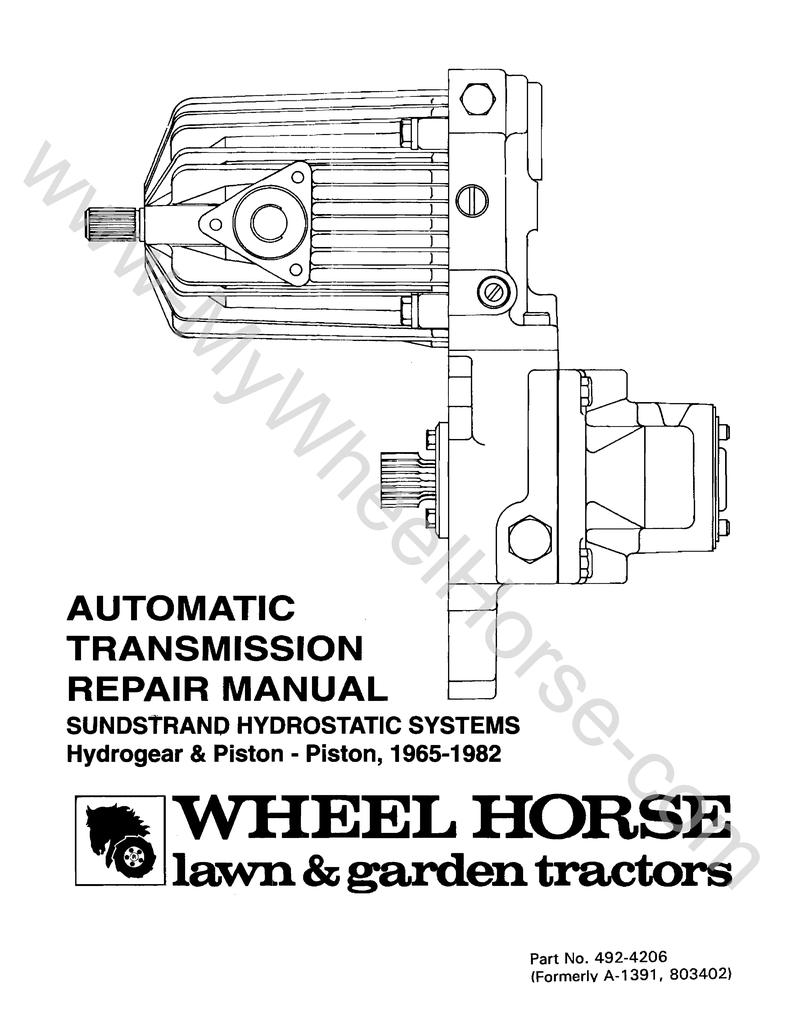 Sundstrand Model 90   manualzz com