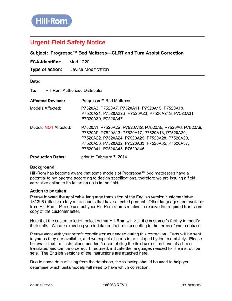 Urgent Field Safety Notice | manualzz com