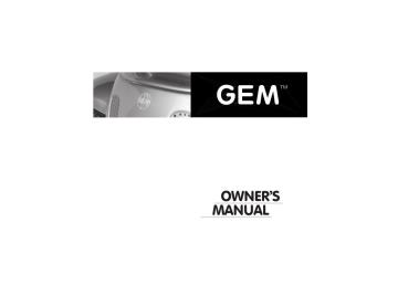 2001-2004 GEM Owners Manual | Manualzz | Gem Car Wiring Schematics 3 |  | Manualzz
