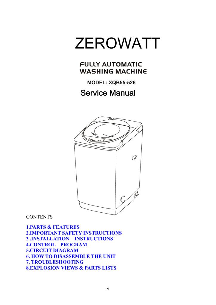 Zerowatt Manualzz