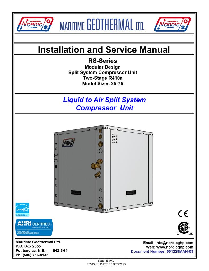 rs residential manual nordic geothermal heat pump manualzz comrs residential manual nordic geothermal heat pump