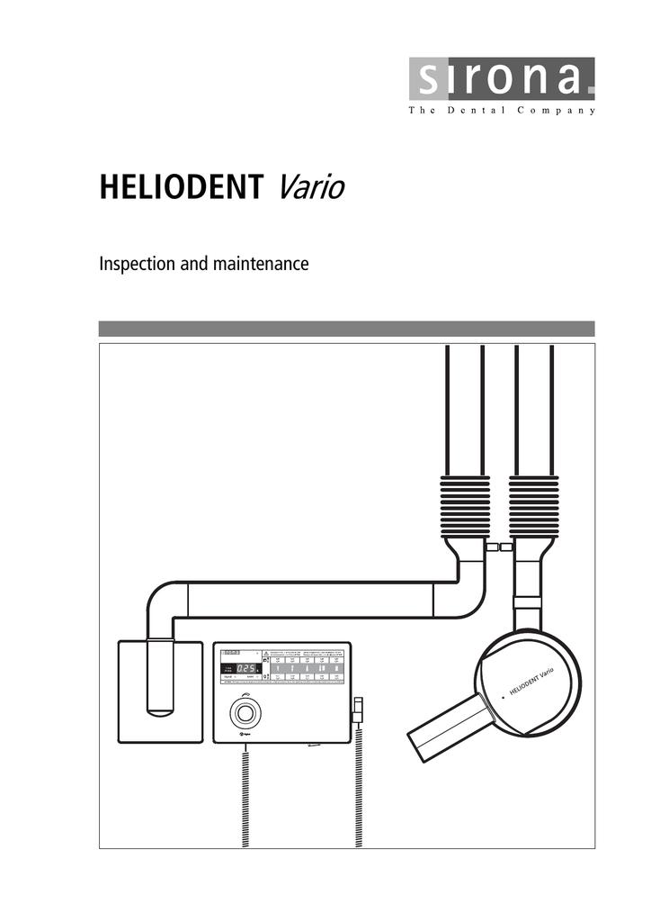 heliodent vario sirona support manualzz com rh manualzz com sirona heliodent vario installation manual sirona heliodent vario installation manual