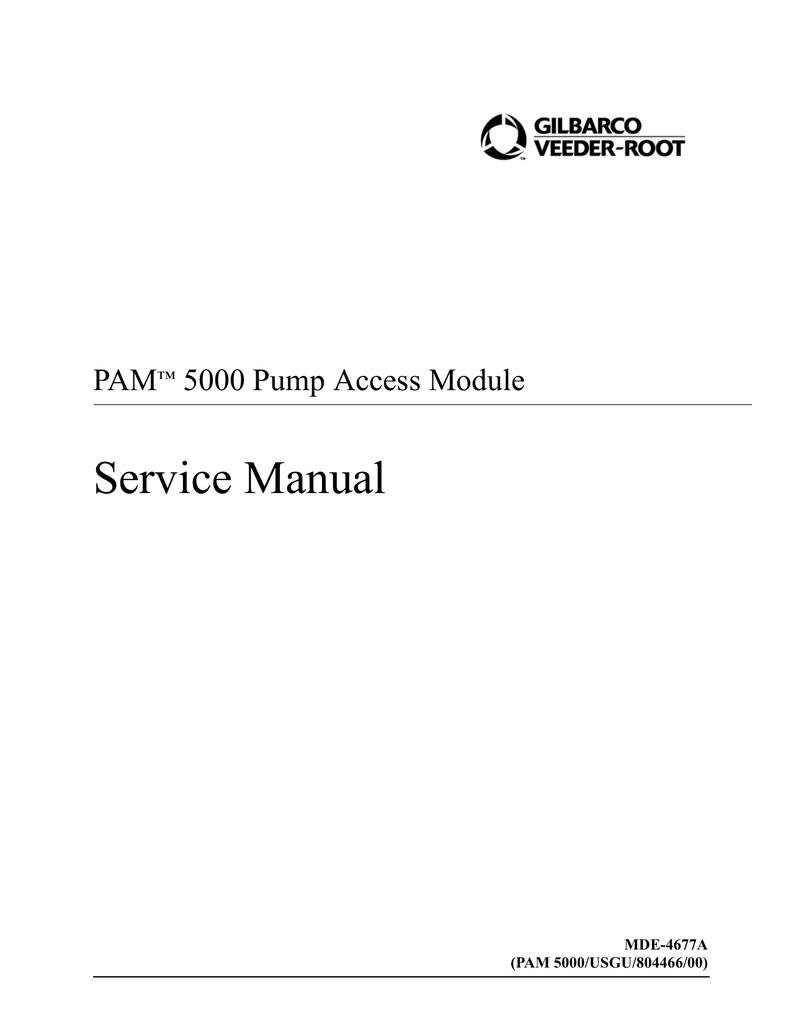 MDE-4677A PAM 5000 Service Manual   manualzz com