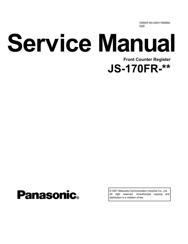 Js 170fr Xx Service Manual Led Circuit Series 5b15dledcircuitjpgd