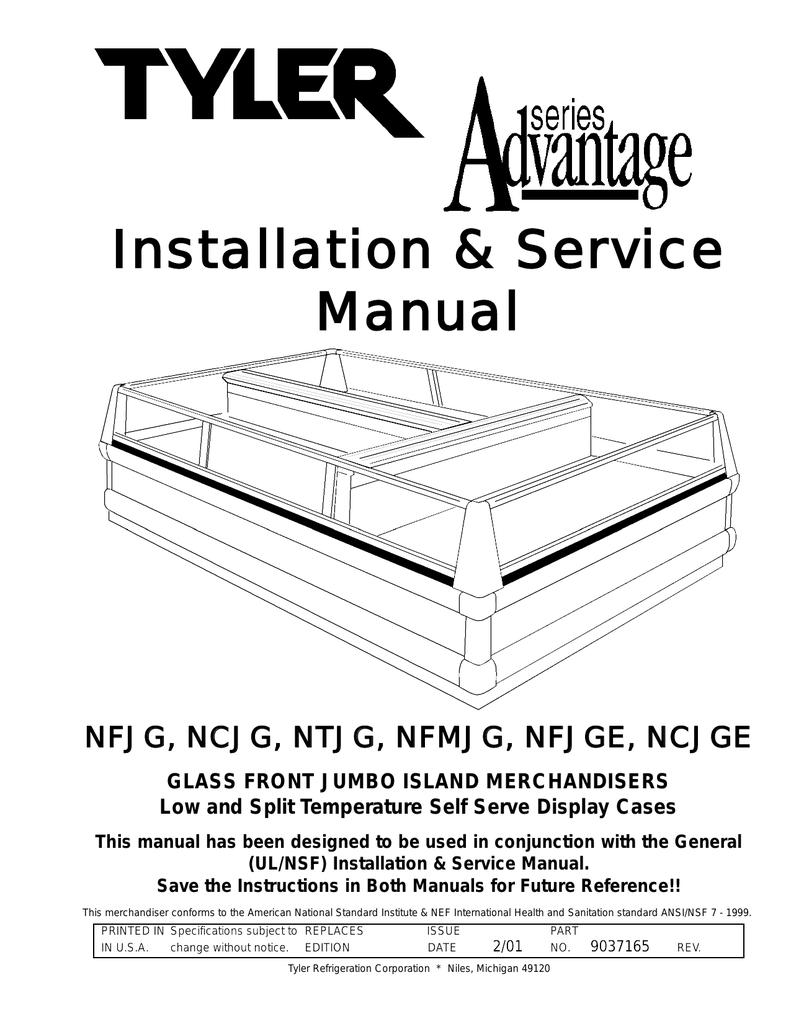 Installation & Service Manual   Manualzz