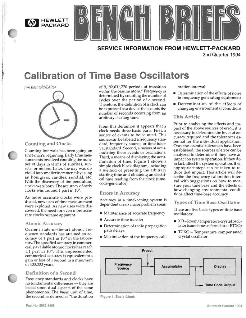 Calibration of Time Base Oscillators   manualzz com