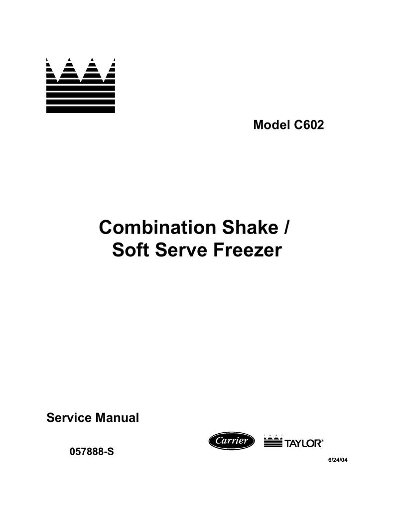 c602 shake sundae machine service manual manualzz com rh manualzz com