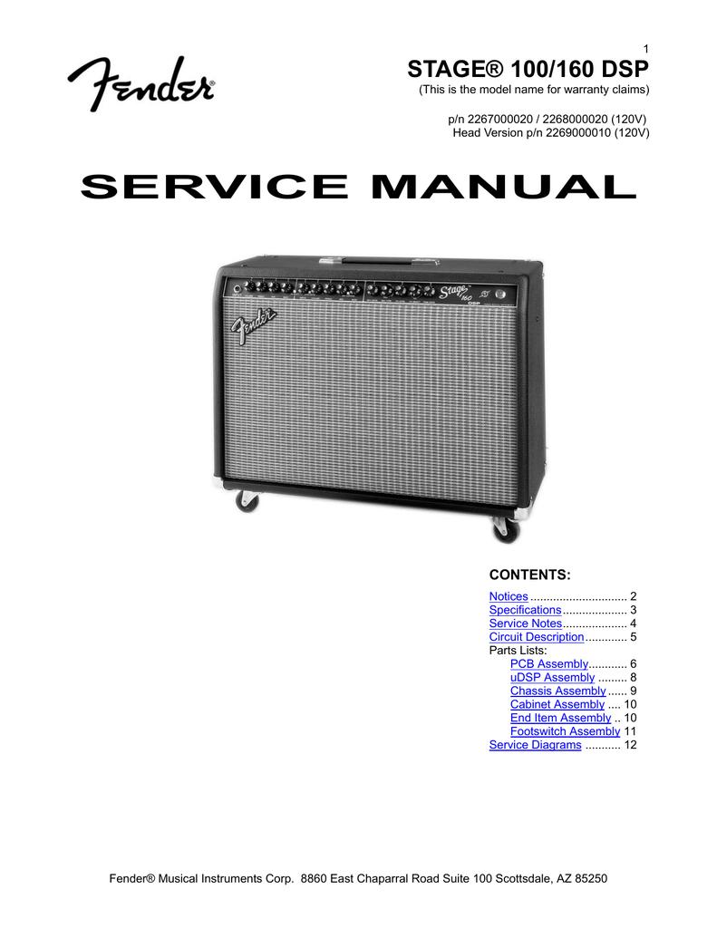 SERVICE MANUAL - Black Magic Amplifiers   manualzz.com on