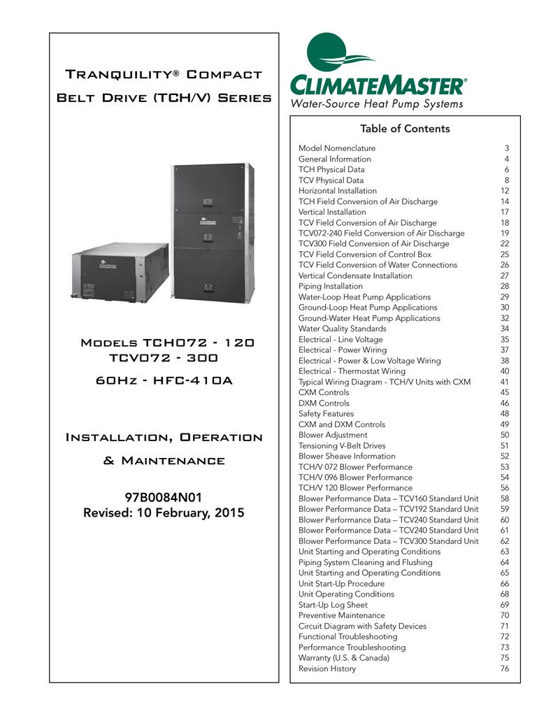 Climatemaster Heat Pump Wiring Diagram : Climatemaster evaporator wiring diagram library