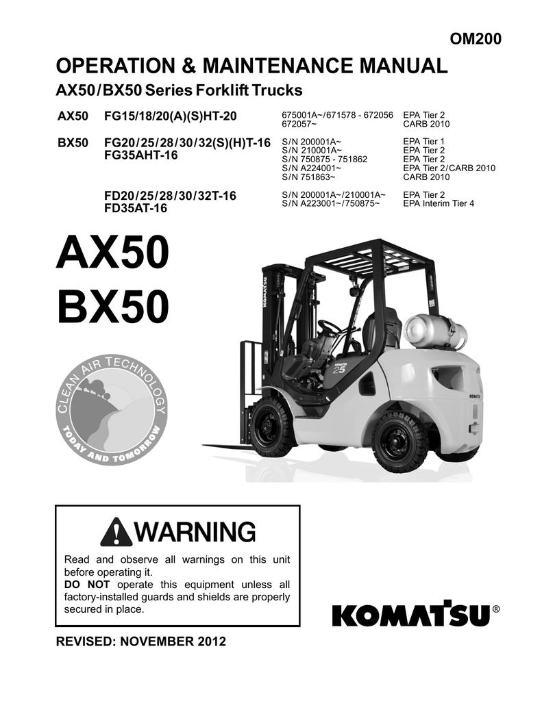Komatsu Fg30 Forklift Wiring Diagram. Gandul. 45.77.79.119