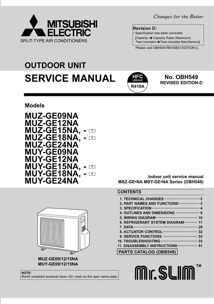service manual mitsubishi electric cooling heating manualzz com rh manualzz com