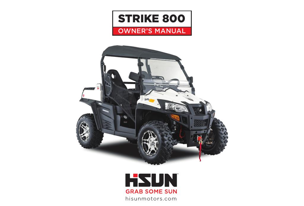 STRIKE 800 - Hisun Motors Corp, USA | manualzz com