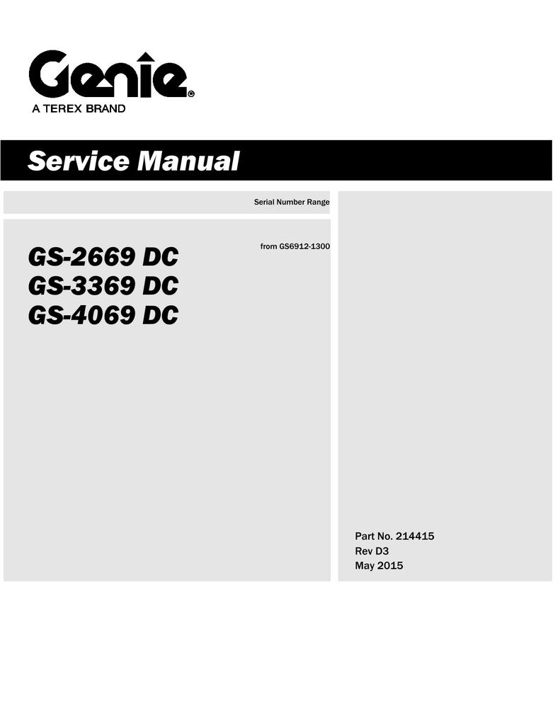 GS-2669/3369/4069 DC (PN 214415) | manualzz com